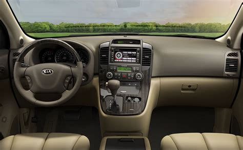 Kia Sedona Interior Automotivetimes 2014 Kia Sedona Review