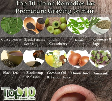hair home remedies home remedies for premature graying of hair top 10 home