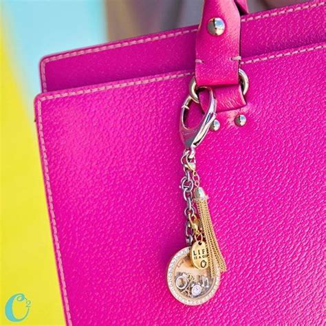 Origami Owl Bag - new origami owl bag clip key chain add one or our solid
