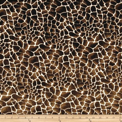 Tas Branded Animal Print Motif Giraffe Jerapah Large 2 In 1 minky cuddle baby giraffe chocolate discount designer fabric fabric
