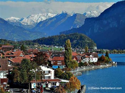 Scenic Town by Brienz Switzerland The Wood Carving Village Swissvistas