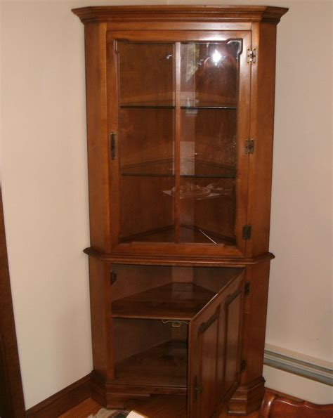 how to build a corner china cabinet woodworking projects
