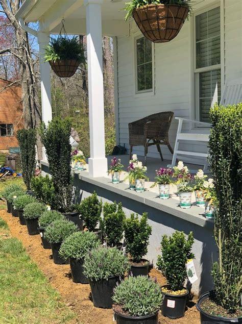 farmhouse curb appeal seeking lavender lane diy