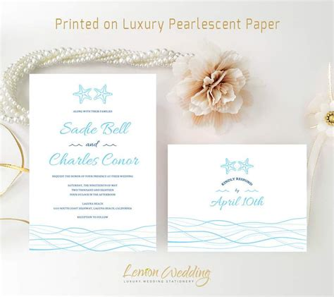 printable wedding invitations beach beach wedding invitation templates wedding invitation