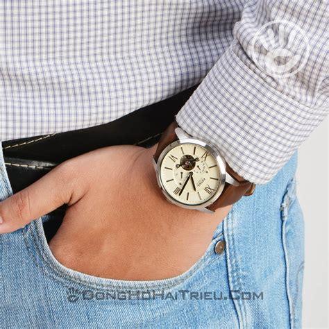 Jam Tangan Pria Fossil Me3064 jual jam tangan fossil me3064 townsman automatic brown