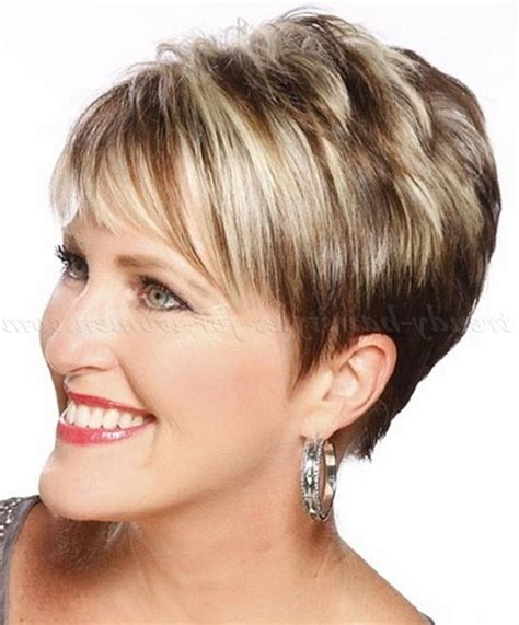 2016 short hairstyles for women over 50