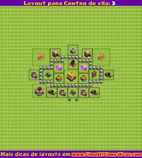 Layout Vila Nivel 2 | melhores layouts para clash of clans centro de vila n 237 vel