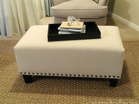 diy footstool ottoman 25 best ideas about diy ottoman on pinterest