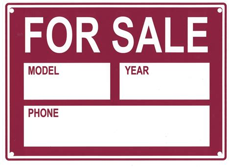 for sale car sign it resume cover letter sle