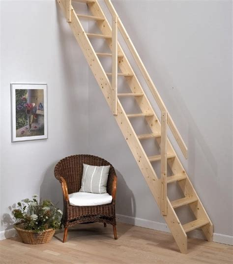 Sliding Down A Banister Dolle Madrid Wooden Space Saving Staircase Kit Loft Stair