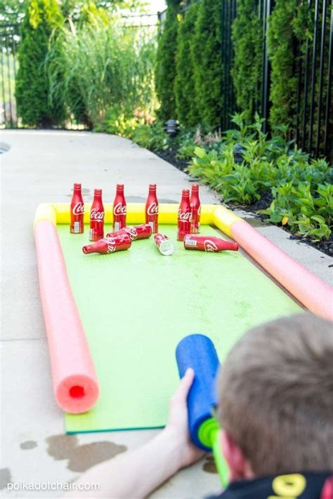 outdoor paint for adults diy coke 174 bottle outdoor bowling summer backyards