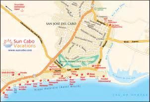San Jose Del Cabo Map by San Jose Del Cabo Map
