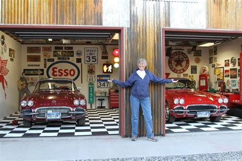 Classic Garage by What S The Flooring For A Classic Car Garage