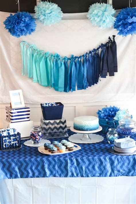 party themes blue when themes just aren t working out blue ombre birthday