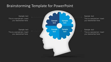 Brainstorming Powerpoint Template Slidemodel Brainstorming Template Powerpoint