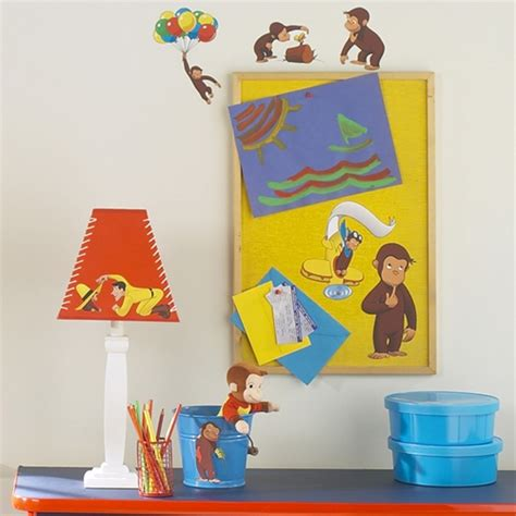 curious george wall stickers curious george peel and stick wall stickers
