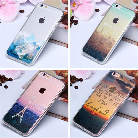 Iphone 6 6s 3d Silicone Black Tpu Acrylic Hardcase 82269 3d paint clear tpu silicone for iphone 6 6s 4 7