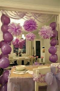 Decoration Ideas For Party At Home 25 best ideas about purple party decorations on pinterest