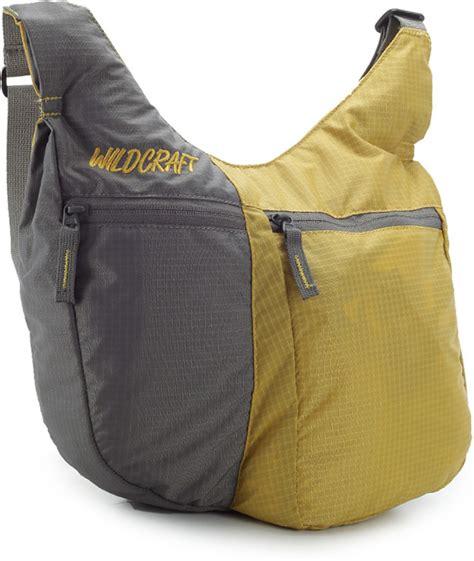 Sling Bag Ori Imagine wildcraft casual yellow grey sling bag