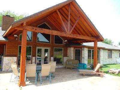Pergolas design: Cedar patio covers