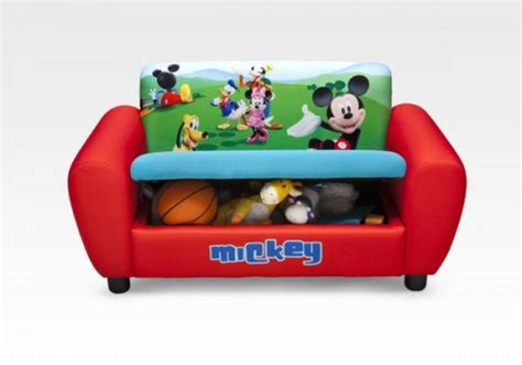 mickey mouse clubhouse sofa character furniture mickey mouse upholstered sofa
