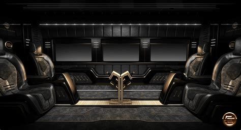 opulent mercedes benz sprinter  carlex design photo
