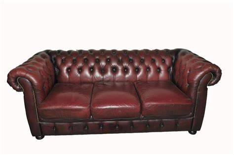oxblood chesterfield sofa ebay vintage chesterfield sofa tufted oxblood ebay