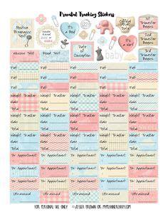 free printable pregnancy planner stickers planner on pinterest planner stickers erin condren and