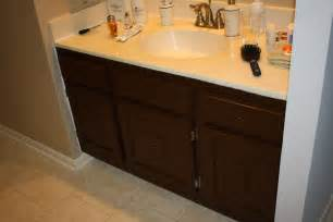Ideas For Painting Bathroom Cabinets by Sparks Fly Painting Bathroom Cabinets What Not To Do