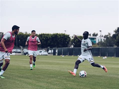 boateng la galaxy pictures ghanaian players in action donsah celebrates