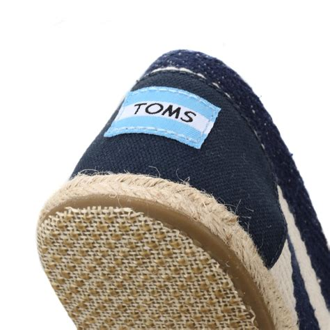 Kickers Papara Casual Slip On Suede Navy toms womens casual shoes flats slip on navy blue stripe