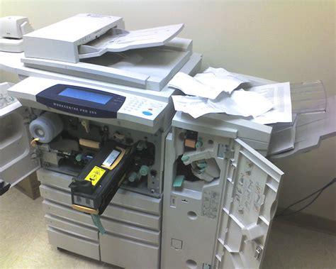 Office Space Paper Jam Copier Printer Jam A Photo On Flickriver