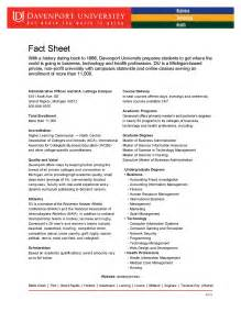 personal fact file template sle of a personal fact sheet go search for
