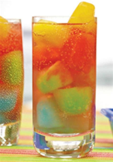 rainbow cocktail recipe kool aid rainbow drink ready for the freezer in just 15