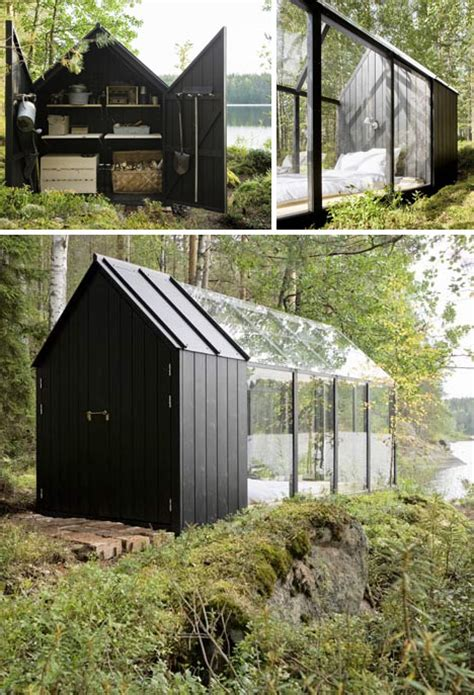 dream  green small scandinavian summer island house
