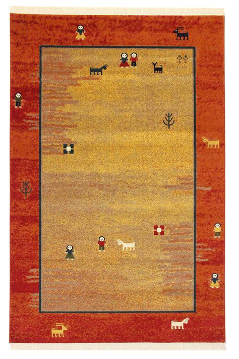 gabbeh rug traditional design gabbeh rug different sizes carpet area ebay