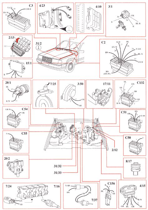 1991 volvo 940 wiring diagrams wiring diagrams