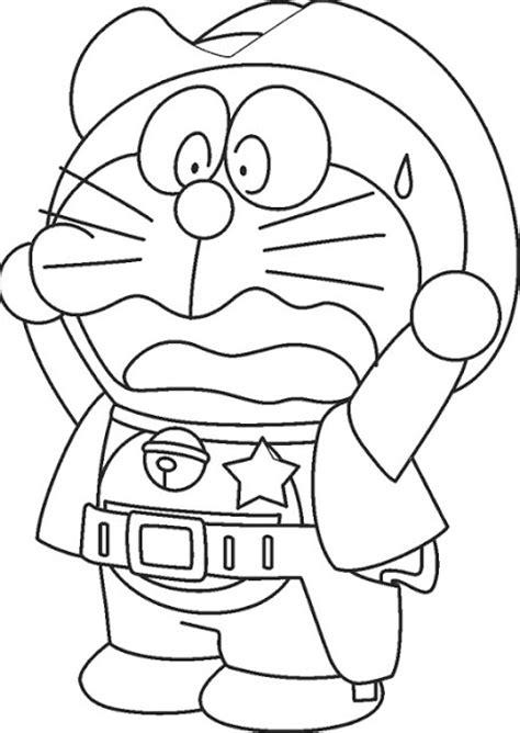 sketsa gambar kartun doraemon bahasa pendidikan bahasa pendidikan