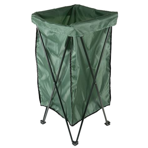Leaf Bag Holder Stand shop garden treasures reusable lawn and leaf 35 in x 18 in