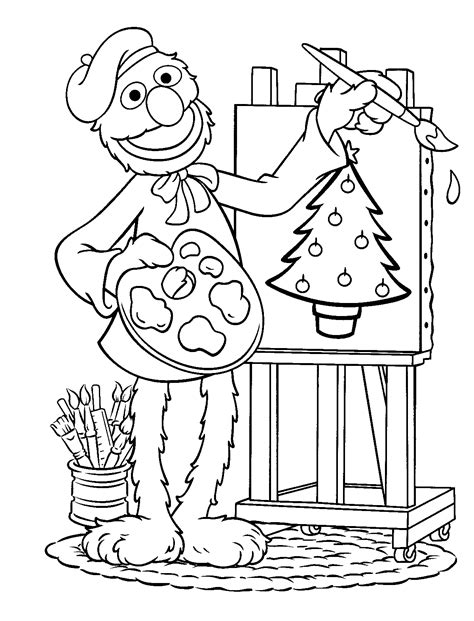 sesame street coloring pages coloring pages for kids