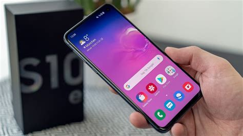 1 Samsung Galaxy S10e by Samsung Galaxy S10e Im Test Chip