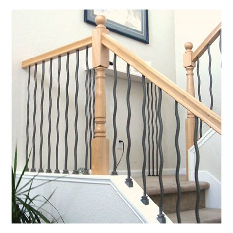 Iron Balusters Wave Iron Baluster Stair Parts