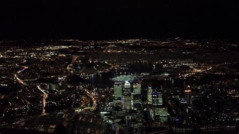 Cockpit View Landing London City Airport At Night - YouTube