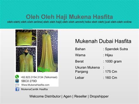 Mukenah Dubai 62 823 3154 3134 telkomsel toko oleh oleh haji di