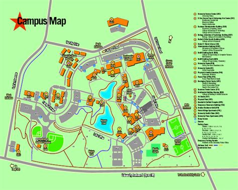university of texas map university of texas at cus map