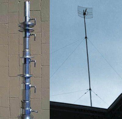 image result for telescoping antenna mast ham radio ham radio