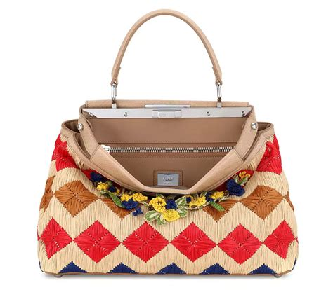 Fendi Raffia B Bag by Every Luxury Brand On The Planet Wants To Sell You A Luxe