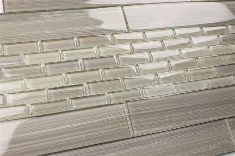 cristezza glass subway tile true gray subway tiles light gray 2x12 hand painted subway glass tile kitchen for
