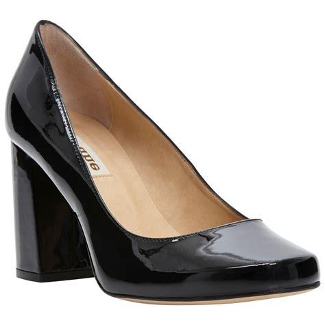 block heel black shoes is heel