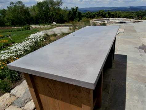a concrete table top exterior concrete table top custom